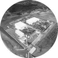 Fotografia da unidade da Mills em Camaçari, Bahia.